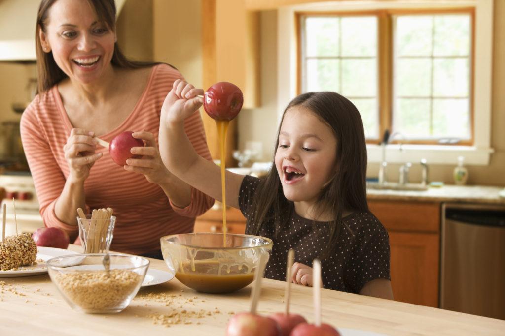preparar postre con tus hijos día del niño