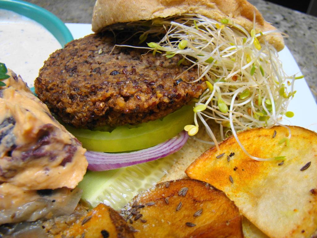 cómo preparar hamburguesas de lenteja