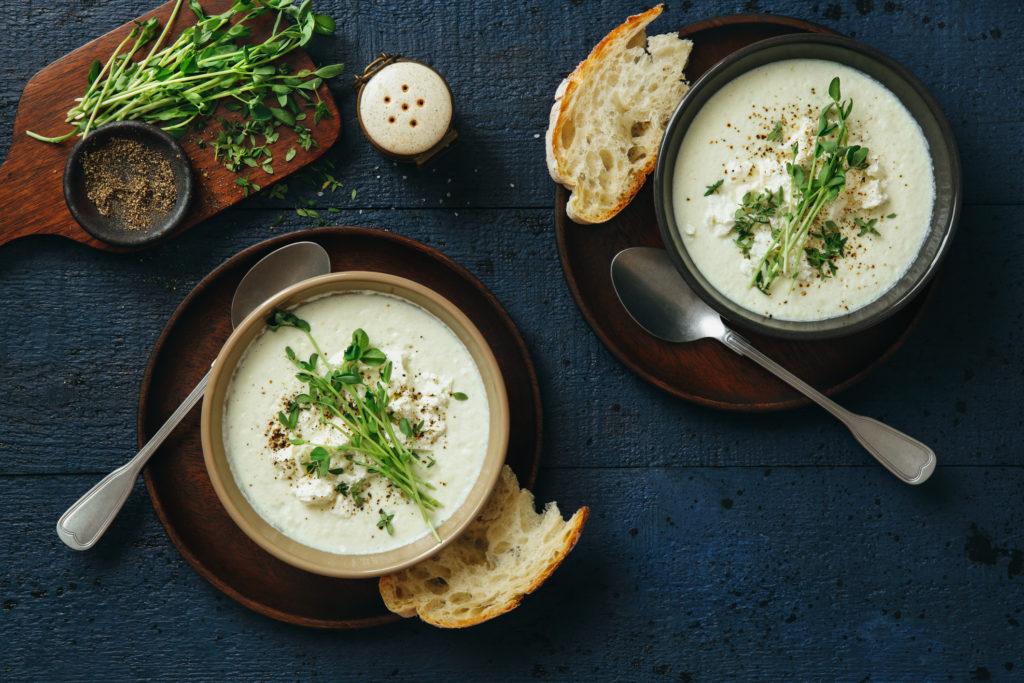 sopa de coliflor para qué sirve