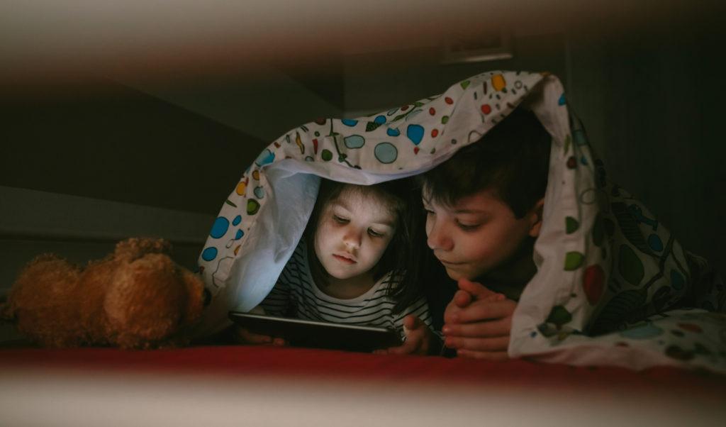 noche de películas día del niño