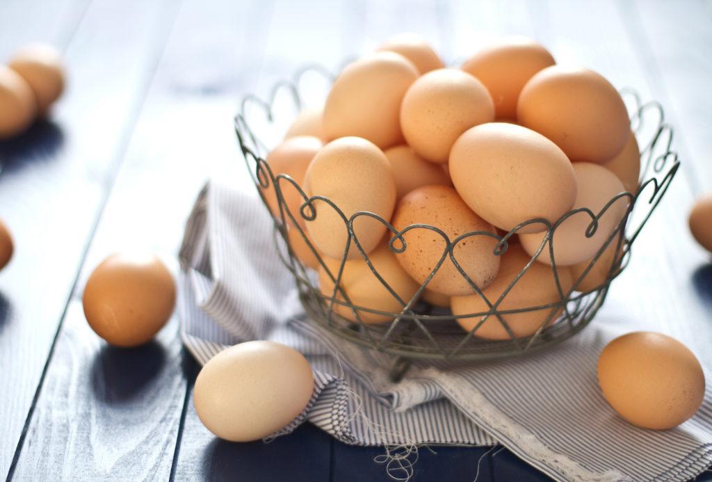 huevos en la alacena