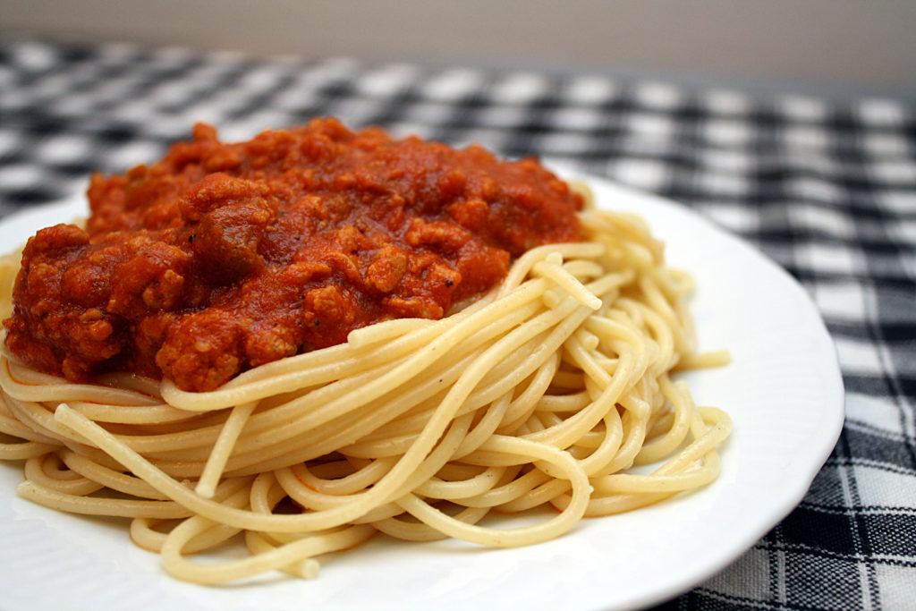 receta pasta a la boloñesa
