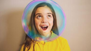 burbujas de jabón en casa