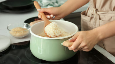 cómo preparar arroz esponjoso