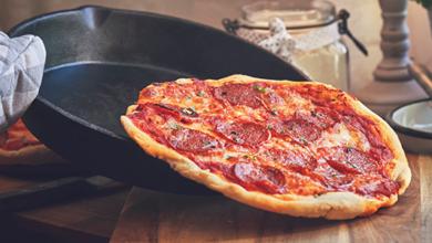Pizza exprés: ¡prepárala en menos de una hora!