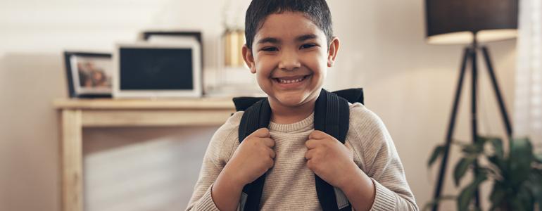 Consejos para preparar a niños que entran a la escuela por primera vez