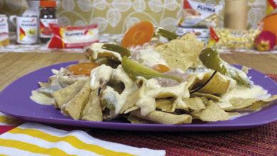 Salsa de queso picante: ¡para acompañar los nachos!